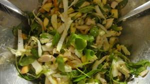 Paleo Apfel Huhn Salat